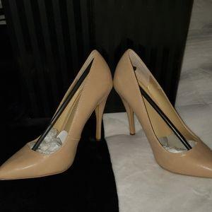 Victoria's Secret runway Nude color high heels